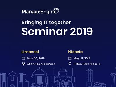Bringing IT together | ManageEngine Seminars 2019