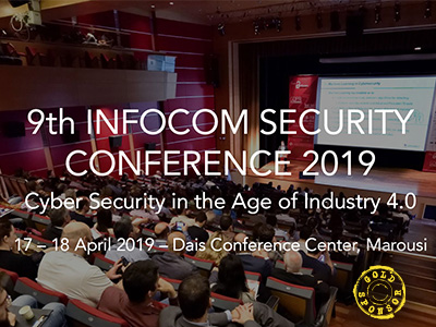 9th Infocom Security Conference Athens 2019 | Workshops program
