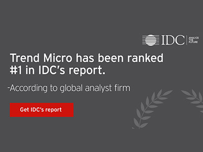 Trend Micro has been ranked #1 in IDC's report