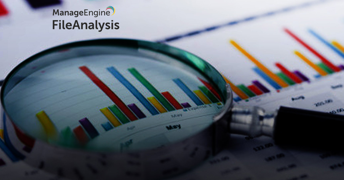 Transform your unstructured data into powerful business insights with ManageEngine FileAnalysis