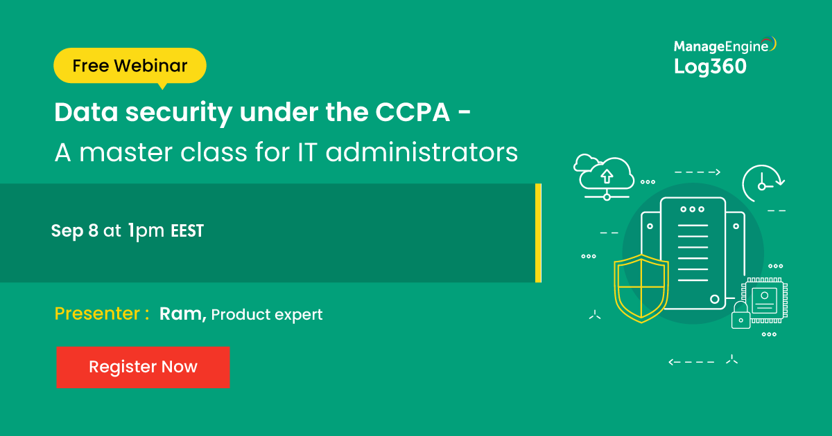 Data security under the CCPA Sep banner-2020