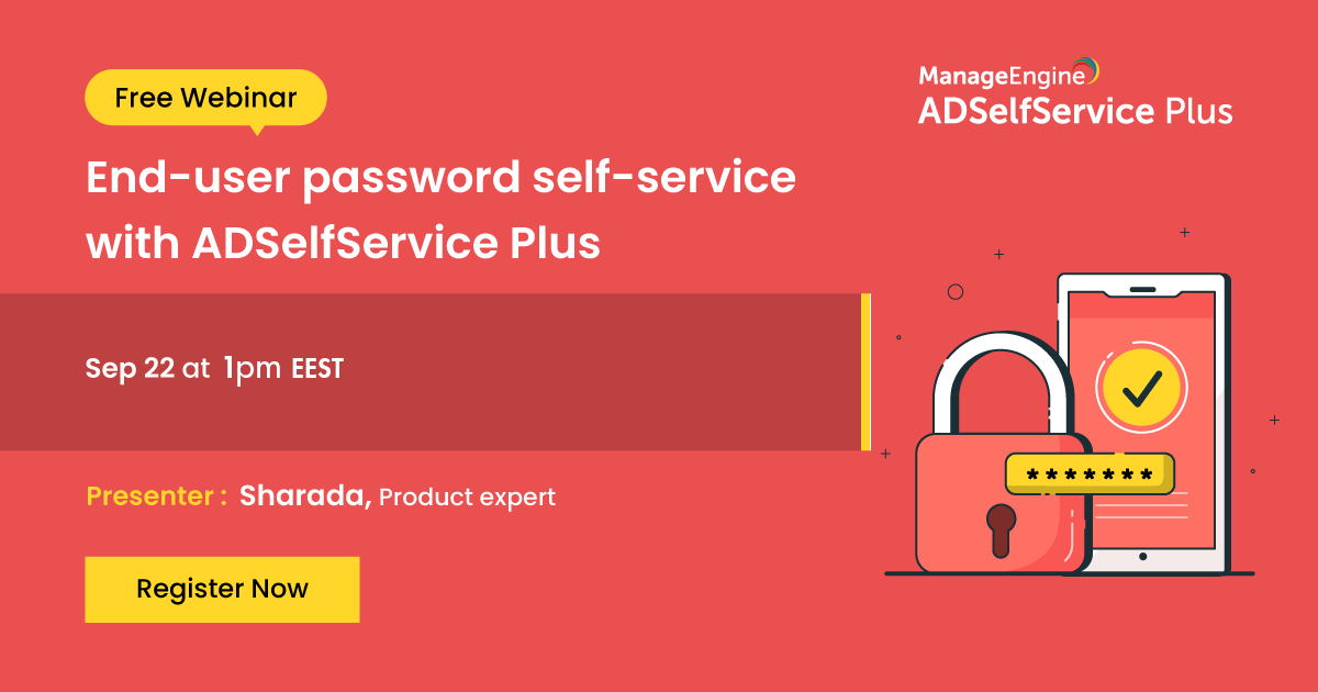 End user password self service Sep banner-2020