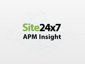 Application Performance Monitoring Site24x7 | ManageEngine