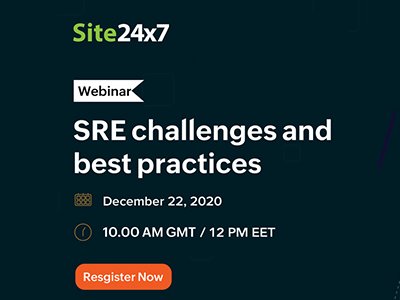 Site Reliability Engineering (SRE) challenges and best practices | Site 24x7