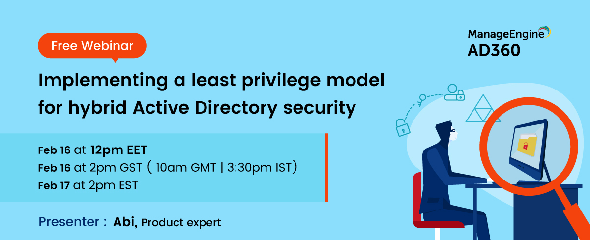 Implementing a least privilege model for hybrid Active Directory security-16-Feb banner-2021