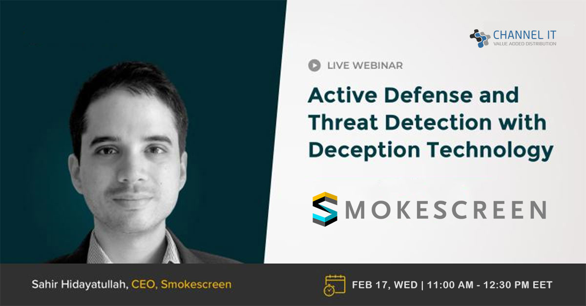 Active Defense and Threat Detection with Deception Technology - Smokescreen (On demand)